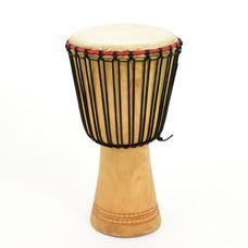 Bouba Percussion Djembé Guinee, melina hout, Ø 26 cm