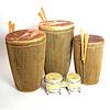 Set van 3 grote drums uit Rwanda