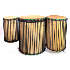 Bouba Percussion Doundoun-set (3) Guinee, Bouba Percussion