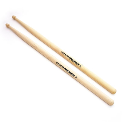 Rohema Drumsticks 2 B, Hornbeam van Rohema, met Stig logo, per paar