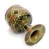 Tombak/ Zarb, model D, mozaiek, uit Iran (incl. koffer)