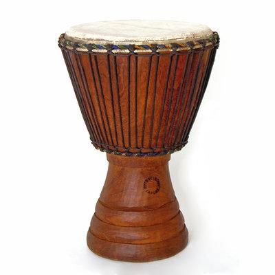 StigSlag Djembé Ivoorkust, Iroko hout Ø 34 - 35 cm
