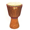 Bouba Percussion Djembé Guinee, hard hout Ø 34 cm, Bouba Percussion
