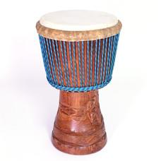 Bouba Percussion Djembé 'Super' uit Guinee Ø 31 cm, Bouba Percussion