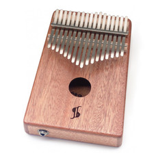 Kalimba diatonisch, 17 tonen, met pick-up, Stagg