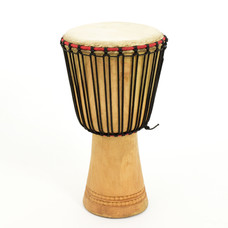 Bouba Percussion Djembé Guinee, melina hout Ø 25 cm, Bouba