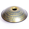 Gadung Handpan 'Aladdin Gold', in C# (incl. Evatek koffer)