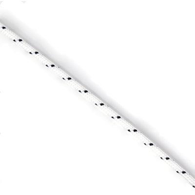 StigSlag Touw polyester 3 mm wit met zwarte stippen (p/m)