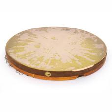 Daf, framedrum met ringetjes, model Pro Rumi (incl. tas)