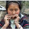 Dan Moi Mondharpje uit Vietnam messing, met beschermhoesje