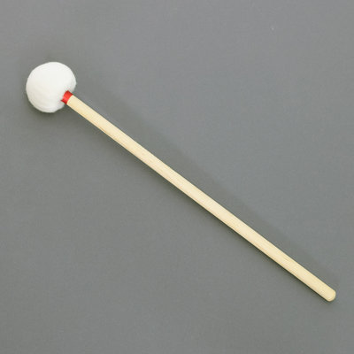 Klopper vilt, zacht, Ø 60 mm, houten steel (p/st)