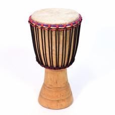 Djembé Ivoorkust, melinahout Ø 29 - 30 cm