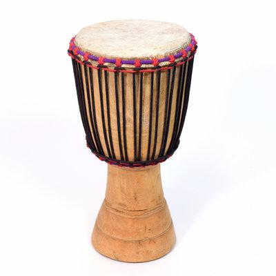 StigSlag Djembé Ivoorkust, melinahout Ø 29 - 30 cm