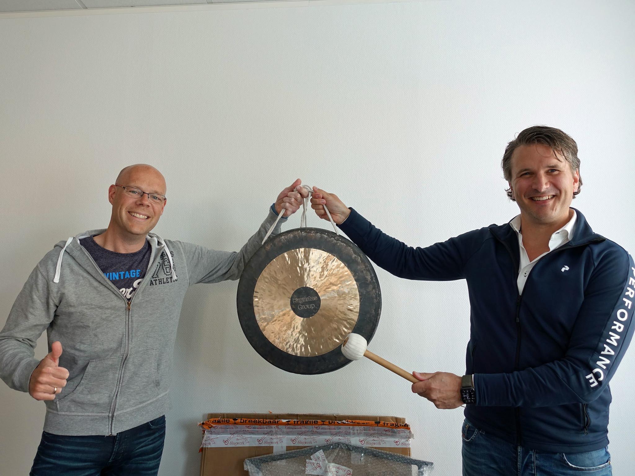 Gegraveerde gong