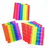 Chroma-Notes, 500 stickers in Boomwhacker-kleuren