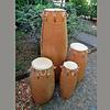 StigSlag Agbadza drums, set van 4, oud