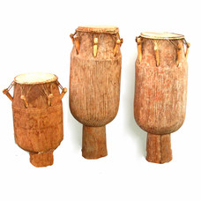 Atumpan set, 3 drums