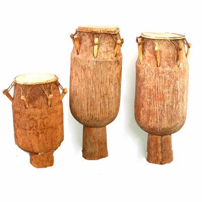 Atumpan set, 3 drums