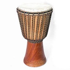 Bouba Percussion Djembé Guinee, hard hout Ø 30 cm, Bouba Percussion