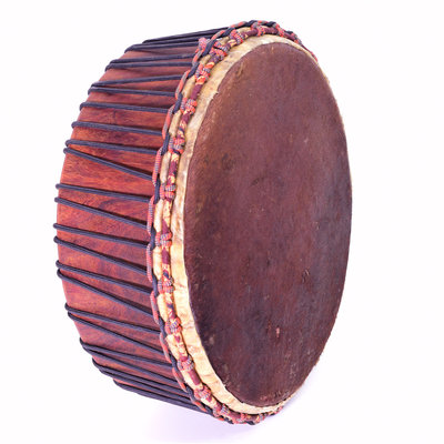 StigSlag Powwow drum, 1 zijde koeienvel, Ø 50 cm, StigSlag