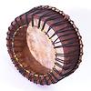 Powwow drum Ø 50 cm, aan 1 zijde koeienvel