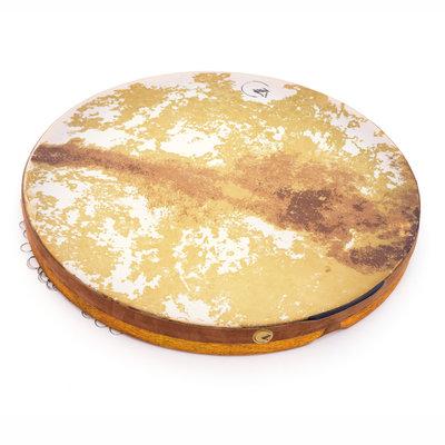 Sazist Daf, framedrum met ringetjes, Sazist (incl. tas)