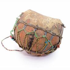 StigSlag Kalebasdrum Mali, oud, doorleefd