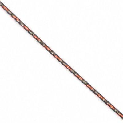 Touw polyester 3 mm blauw-beige-oranje (p/m)