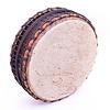Powwow drum, aan 2 zijden koeienvel, Ø 50 cm, StigSlag