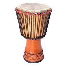 Bouba Percussion Djembé  Guinee, met rubber voet, Ø 32,5 cm, Bouba Percussion