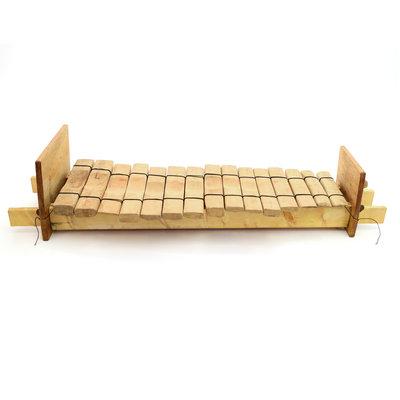 Amadinda, xylofoon uit Uganda - 15 tonen
