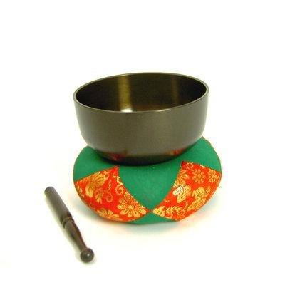 Klankschaal Dharma Ø 13,4 cm, Japan (incl. kussen+klopper)