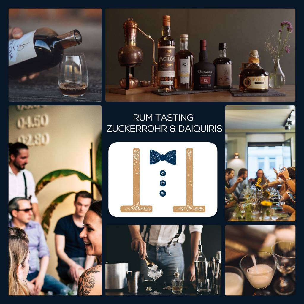 Rum Tasting Hamburg am 28.08.2021