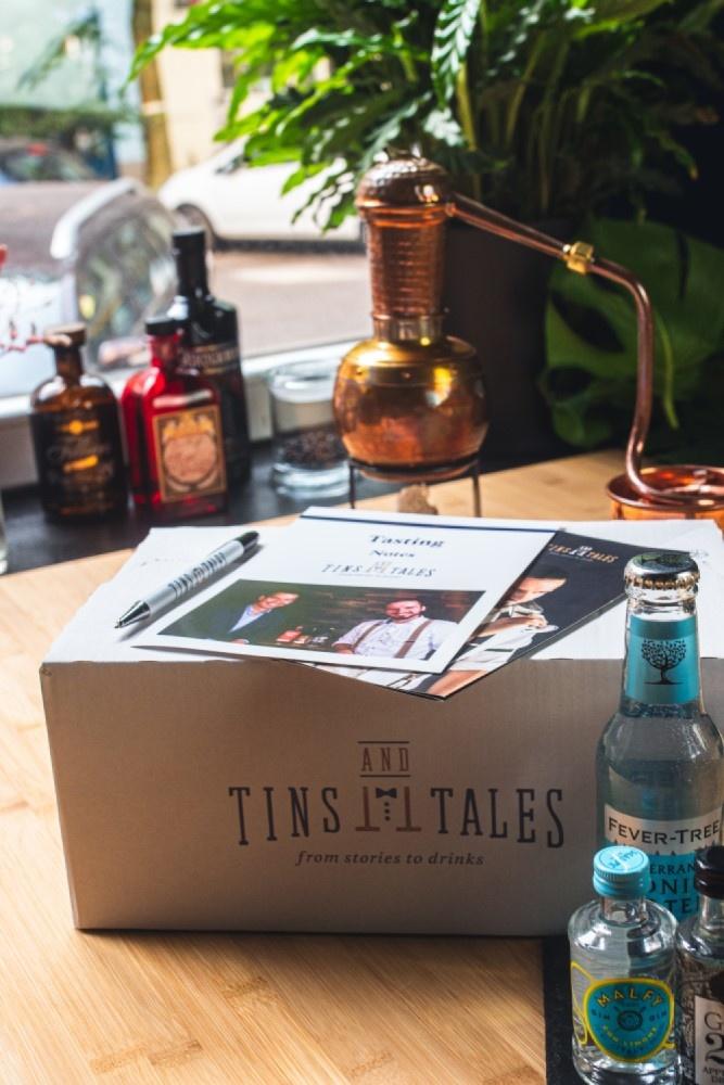 Gutschein für ein ONLINE Gin Tasting in Hamburg