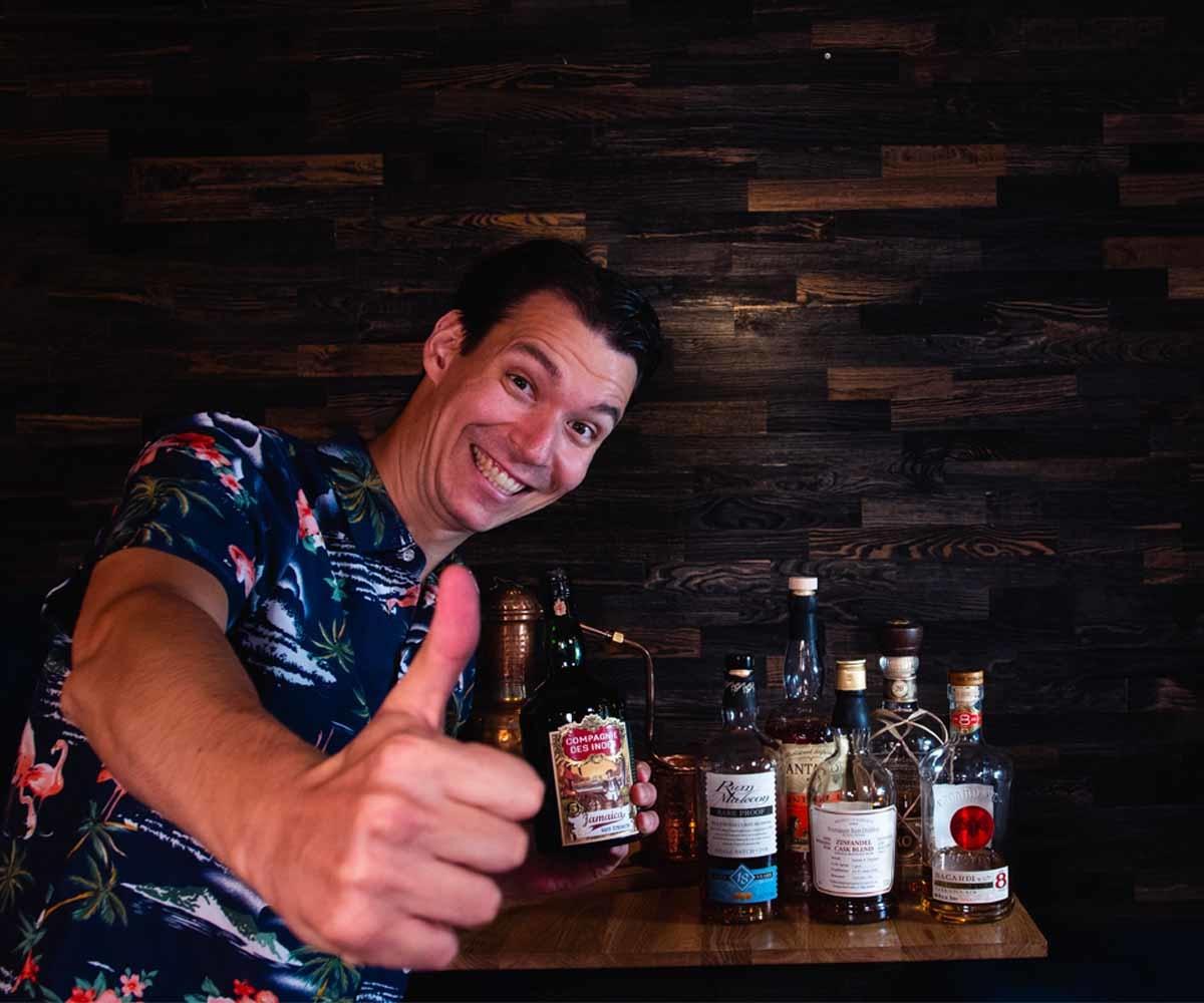 Rum Tasting at Home - Online Rum Tasting am  29.12.2021