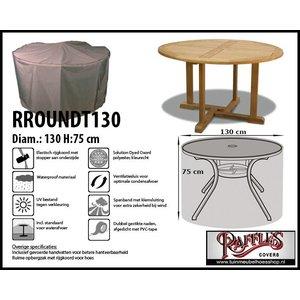 Ronde beschermhoes voor tuintafel, Ø 130 cm H: 75 cm
