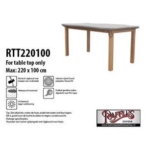 Tuinhoes voor tafelblad, 220 x 100 cm