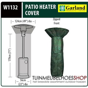 Patio Heater, Ø 124 cm H: 213 cm
