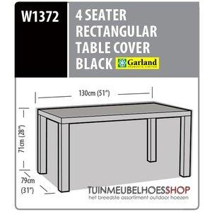 Tuintafel cover, 130 x 79 H: 71 cm