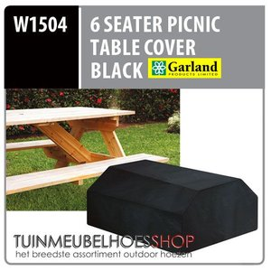 Beschermhoes voor picnic tafel, 157 x 145 H: 76 cm