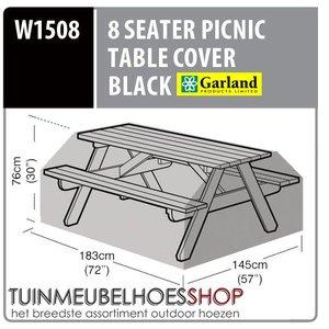 Hoes voor picknicktafel, 183 x 145 H: 76 cm