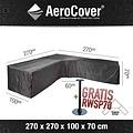 AeroCover Beschermhoes voor hoekbank, 270 x 270 H: 70 cm