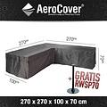 AeroCover Hoes voor loungeset hoekopstelling, 270 x 270 H: 70 cm