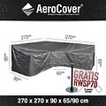 AeroCover Hoes voor hoge loungesofa, 270 x 270 H: 90 / 65 cm