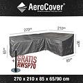 AeroCover Hoes voor dining hoeksofa, 270 x 210 H: 90 - 65 cm