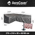 AeroCover Hoes voor hoekbank diningset, 270 x 210 H: 90 - 65 cm