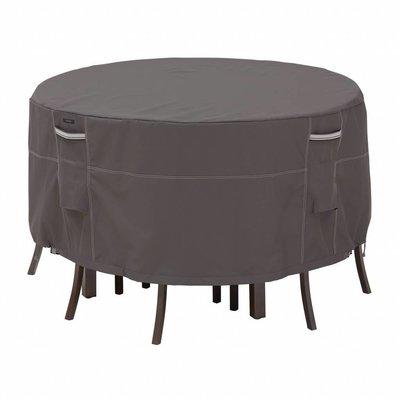 Ravenna, Classic Accessories Hoes voor ronde tuinset, bescherm hoes rond, voor ronde tafel met 6 stoelen, diam. 239  cm Hoog 58 cm