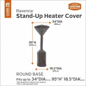 Hoes voor Terras Heater, 241 cm hoog, diam 86 cm