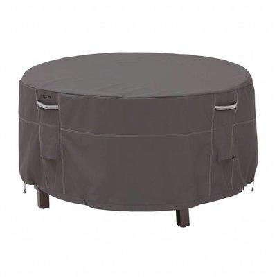 Ravenna, Classic Accessories Hoes voor ronde tuinset, bescherm hoes rond, voor ronde tafel met 4 stoelen, diam. 152  cm Hoog 58 cm