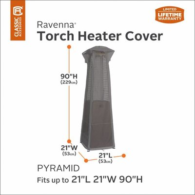 Ravenna, Classic Accessories Hoes voor terrasheater 53 x 53 H: 229 cm